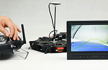 Introducing iOSD Mark II feature-support double video source input,switchable during flight.