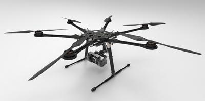 Professional Hexa-Rotor Platform