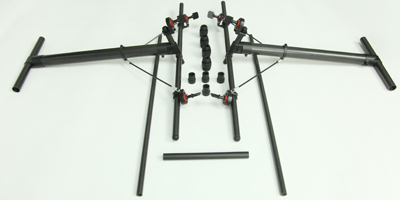 Quick Assembly and Disassembly Landing Skid