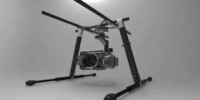 3-AXIS Professional Gimbal With High Performance