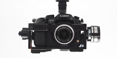 Gimbal Design Customized for the Panasonic GH3