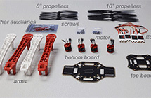 Introducing major parts of F450&Naza-M.