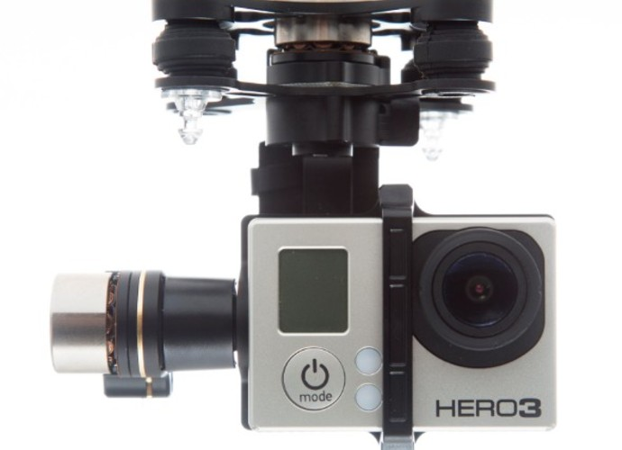 3-axis Zenmuse H3-3D Gimbal<